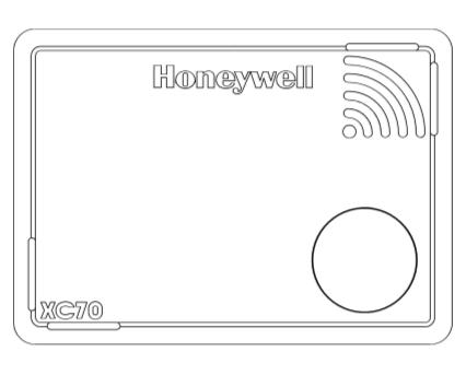 Honeywell, Alarm, Carbon, Monoxide, Sensor, Box, White, Red, Gas,