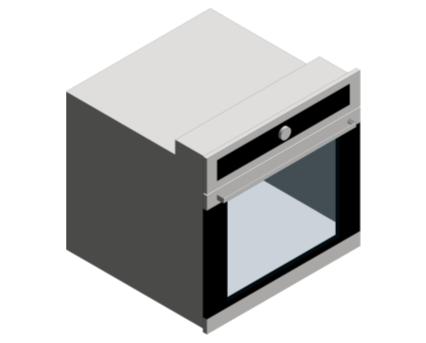 Revit, BIM, Mechanical, Kitchen, Hot, Point, Hotpoint, Oven, SI5 851 H IX