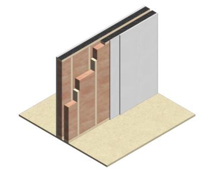 Hush, Acoustics, Wall, Components, Buildups, System, Bim, Revit, 2014