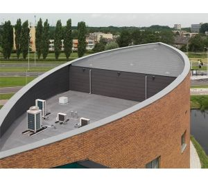 Product: Cosmofin Mechanically Fastened Warm Roof System