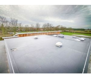 Product: Monarplan Fully Adhered Warm Roof System
