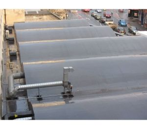 Product: Monarplan Mechanically Fixed Warm Roof System