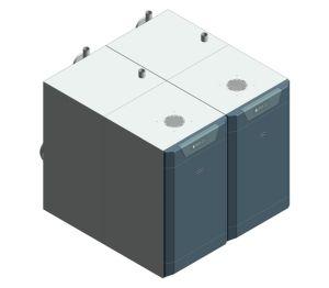Product: Imax Xtra EL - Floor Standing Condensing Boiler 715-1240kW