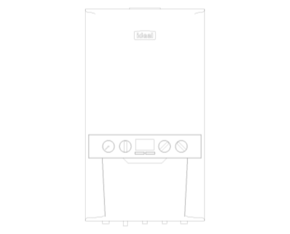 Ideal, Heating, Boiler, Logic, Combi, Combination, Domestic, Hot, Water, kW, C24, C30, C35