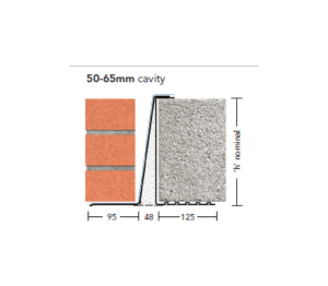 Product: Extra Heavy Duty Load Lintel - L5 WIL