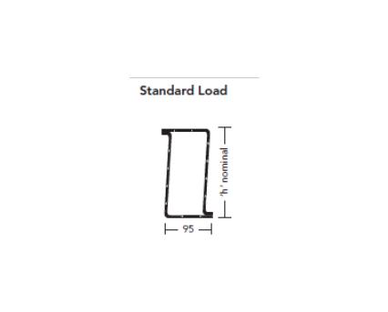 BIM, Content, Object, Component, bimstore, Revit, 2D, Profile, Detail, Item, 15, IG, Lintel, Lintels, standard, Load, box