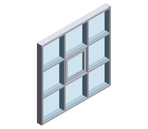 Product: AA®265 Unitised Curtain Wall System