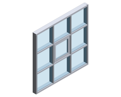 Revit, BIM, Store, Components, Architecture,Object,Free,Download,Kawneer,curtain,wall,system,AA265,unitised,dry,glazed,assembly,fast,track,installation,factory,fabrication
