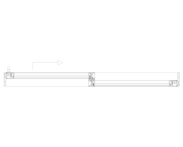 Aa 174 3572 Lift Slide Door System Curtain Wall Door