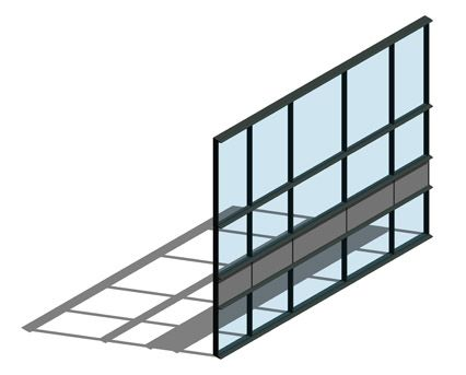 Revit, BIM, Store, Components, Architecture,Object,Free,Download,Kawneer,curtain,wall,system,50mm,AA100,HC