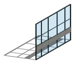 Product: AA110 (65mm) Curtain Wall System - SSG