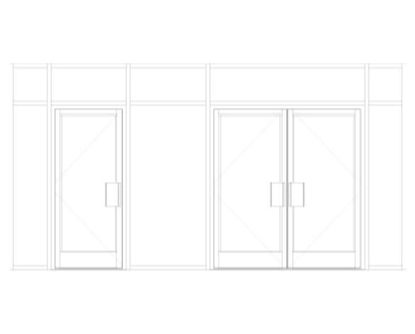 Kawneer AA190 TB Doors