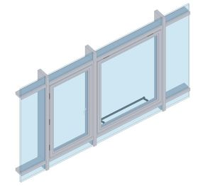Product: AA541 Casement Window