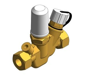 Product: Fig 143 'Multi-Therm' Automatic Circulation Regulation Valve