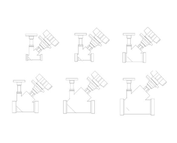 Fig 150 'Multi-Fix' Manual Circulation Regulation Valve