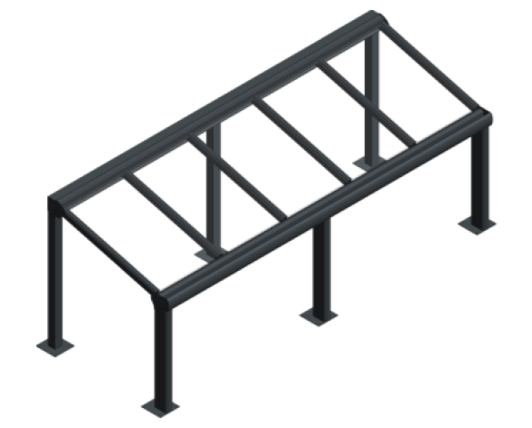 bim, bimstore, object, system, kensington, system, canopy, fixed, shelter, walkway, roof, canopies, Space, Shade, Max, Freestanding