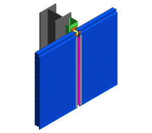 Product: AWP Hz Wall - Option A Vertical Joint Detail