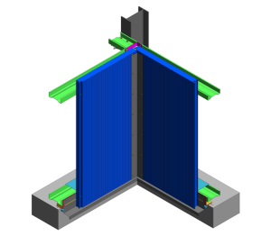 Product: AWP Vt Wall - Base and Internal Corner Detail