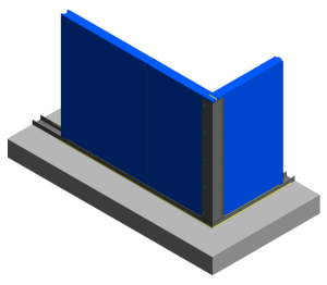 Product: CS Internal Chill - Base Detail 1 Degrees and External Corner Detail
