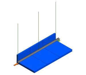 Product: KS1100UTS - Ceiling Modtop Suspension I