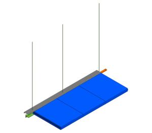 Product: KS1100UTS - Ceiling Modtop Suspension II