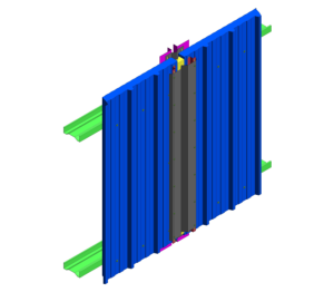 Product: RW Vt Wall - Expansion Joint Detail