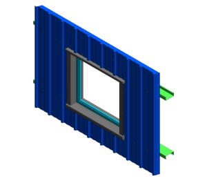 Product: RW Vt Wall - Window Head, Jamb and Cill Detail