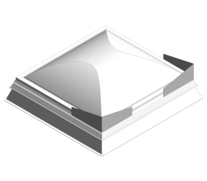 Product: Day-Lite Kapture Smoke Roof Light