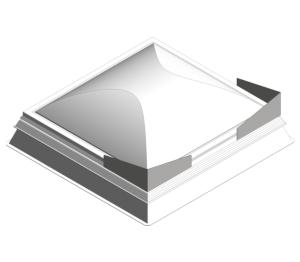 Product: Day-Lite Kapture Smoke Roof Light