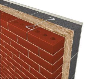 Product: Masonry Cavity Wall - U-value - 0.21 W/m²K
