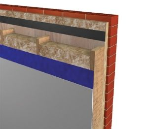 Product: Timber Frame Wall - U-value - 0.22 W/m²K