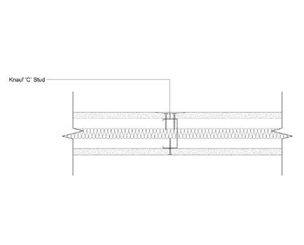 Autodesk, Revit, BIM, Components, Walls, Partitions, Knauf, Metal Sections, C Studs, Plasterboard