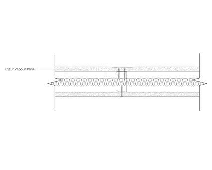 Autodesk, Revit, BIM, Components, Walls, Partitions, Knauf, Metal Sections, Vapour Panel, Plasterboard