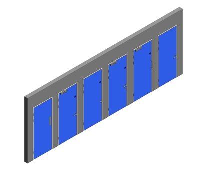 Revit, BIM, Download, Free, Components,Object,Interspec, Single, Door, 00, Lloyd, Worrall,single,leaf,ironmongery,doorset,detail,