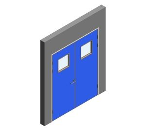 Product: Interspec Doorset - Detail 04 - Double Leaf