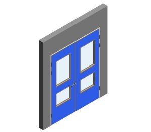 Product: Interspec Doorset - Detail 10 - Double Leaf