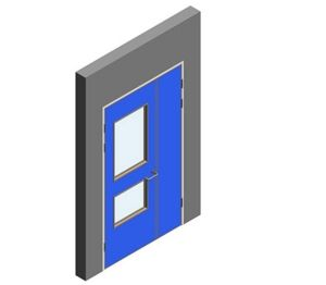 Product: Interspec Doorset - Detail 10 - Leaf and Half