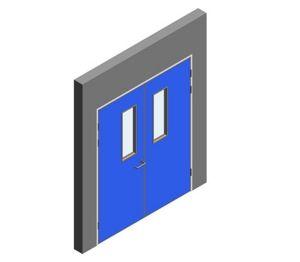 Product: Interspec Doorset - Detail 12 - Double Leaf
