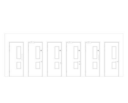Revit, BIM, Download, Free, Components,Object,Interspec, Single, Door, 12, Lloyd, Worrall,single,leaf,ironmongery,doorset,detail,