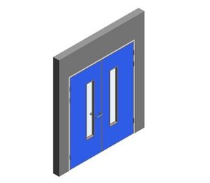 Product: Interspec Doorset - Detail 14 - Double Leaf