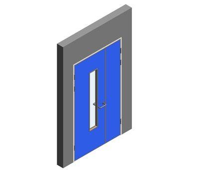 Revit, BIM, Download, Free, Components, Object, Interspec, Single, Door, Lloyd, Worrall, Half, leaf, ironmongery, doorset, detail, 14