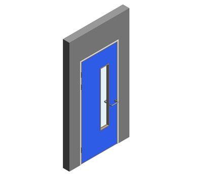 Revit, BIM, Download, Free, Components,Object,Interspec, Single, Door, 14, Lloyd, Worrall,single,leaf,ironmongery,doorset,detail,