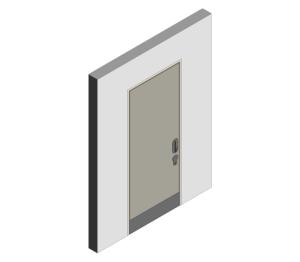 Product: Mental Health Doorset - Detail 00 - Single Leaf