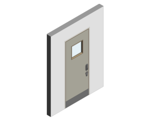 Revit, BIM, Download, Free, Components, object, objects, Lloyd, Worrall, Group, Mental, Health, Environment, Door, Sets, Detail, 04, MHD, Ironmongery, Single, Leaf