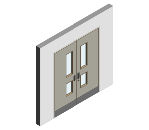 Product: Mental Health Doorset - Detail 13 - Double Leaf