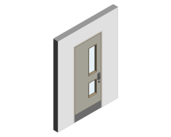 Revit, BIM, Download, Free, Components, object, objects, Lloyd, Worrall, Group, Mental, Health, Environment, Door, Sets, Detail, 13, MHD, Ironmongery, Single, Leaf