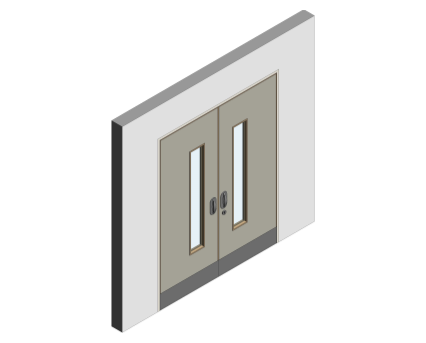 Revit, BIM, Download, Free, Components, object, objects, Lloyd, Worrall, Group, Mental, Health, Environment, Door, Sets, Detail, 14, MHD, Ironmongery, Double, Leaf