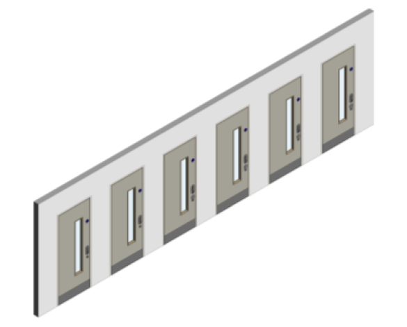 Revit, BIM, Download, Free, Components, object, objects, Lloyd, Worrall, Group, Mental, Health, Environment, Door, Sets, Detail, 14, MHD, Ironmongery, Single, Leaf