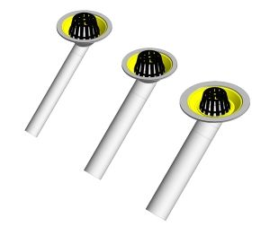 Product: Roof Outlet - 45 Degree Threaded