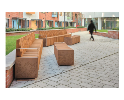Bim,content,object,component,BIM, Store, Revit,original,library,family,families,marshall,landscaping,external, furniture, natural, elements, collection, outdoor, modular, system, timber, seating, options, curved ,benches, planter, combined, litter, bin, cycle, stand, bollard